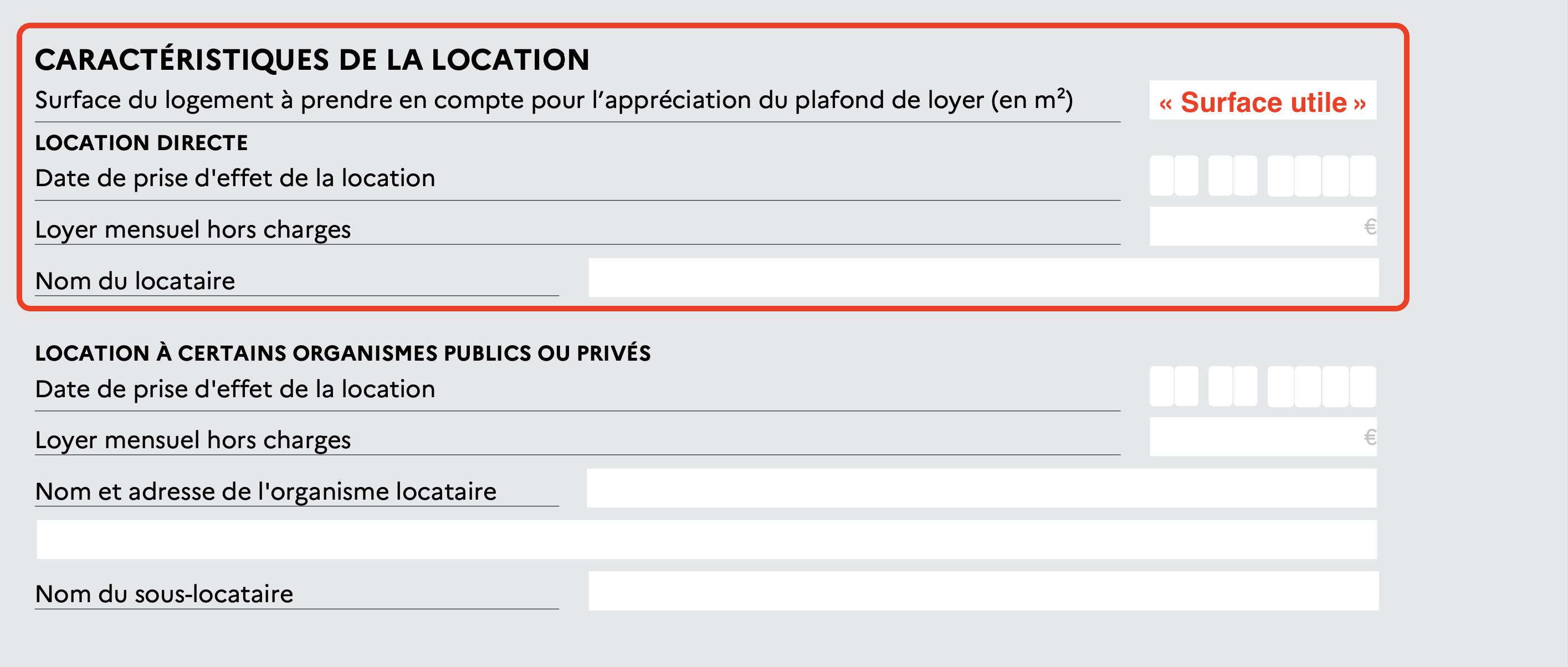 caractéristiques de la location déclaration fiscale pinel